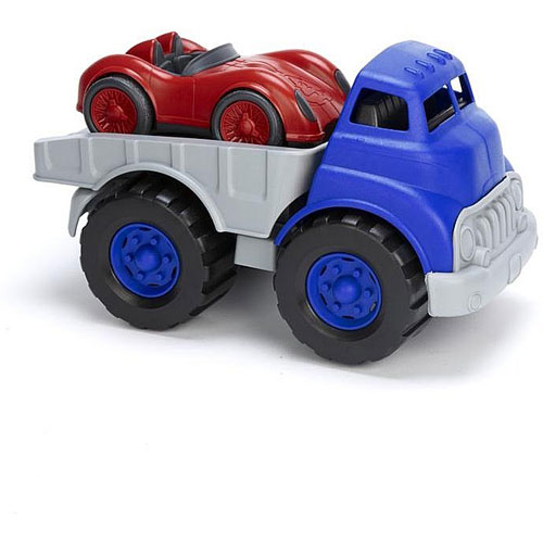 Flatbed Truck With Race Car Grand Rabbits Toys In Boulder Colorado