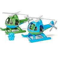 Helicopter Green or Blue