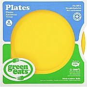Green Eats Plates - Yellow (2 pack)