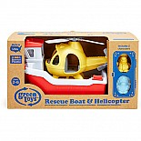 Rescue Boat w/ Helicopter