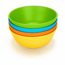 Green toys Green Eats Snack Bowl-4 Per Set-assorted Case (3/ Color)