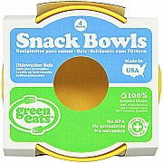 Green Eats Snack Bowl - 4 per set - Yellow