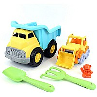 Sand and Water Deluxe Sets: Dump Truck (yt) With Scooper
