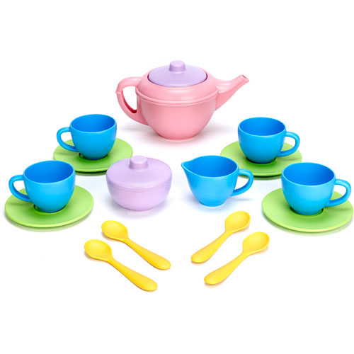 Green Toys Tea Set The Granville Island Toy Company