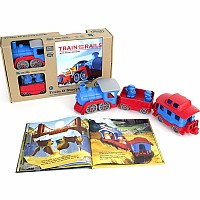 Green Toys Train and Book Set