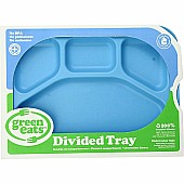 Green Eats Divided Tray - 1 tray per sales unit - Blue