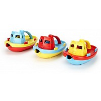 Green Toys - Tug Boat (Assorted)