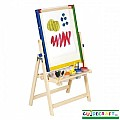 4-in-1 Flipping Easels Floor Easel