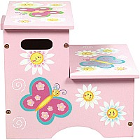 Butterfly Storage Step Stool