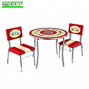 Retro Racers Table  Chairs Set