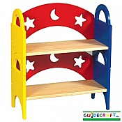 Moon  Stars  Stacking Bookshelf (set of 2)