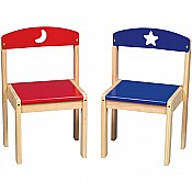 Moon  Stars Extra Chairs (set of 2)