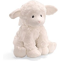 Gund Lena Lamb Keywind Jesus Loves Me