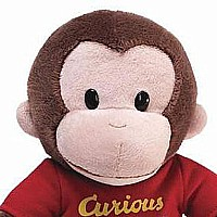 Curious George 12'' Red Shirt