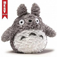 Fluffy Plush Totoro - Grey - 6