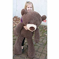 Fuzzy Chocolate Jumbo 34""