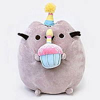 Pusheen Birthday Plush 10.5""