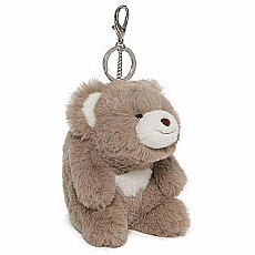 Snuffles Taupe Keychain, 5