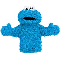 Cookie Monster Hand Puppet 11""