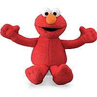 Elmo Bean Bag Character 6 Inch