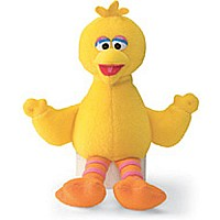 Sesame Street Beanbags Big Bird 6.75""