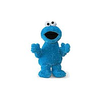 Cookie Monster - Fabric Eyes 21""