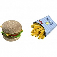 Biofino Hamburger and French fries