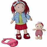 "12"" Rubina Doll With Baby"