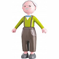 Haba Little Friends Grandpa Kurt Bendy Doll