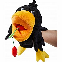 Glove Puppet Theo the Raven
