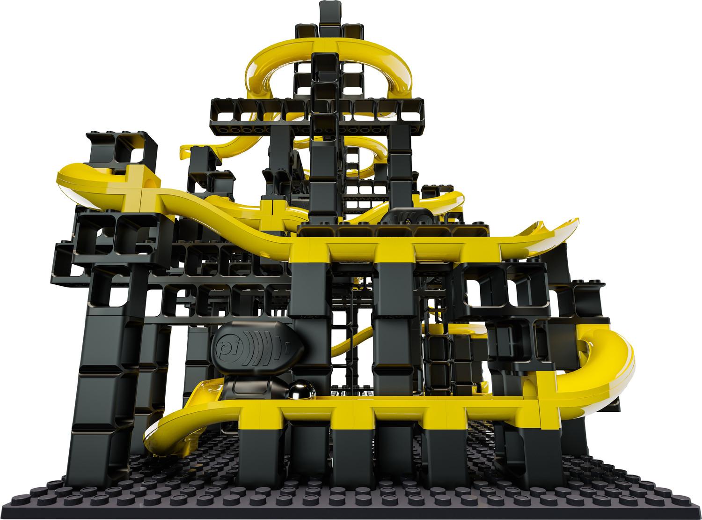 Hubelino Pi Advanced Marble Run 70 Piece Gauss Cannon Action Set