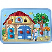 Haba Happy Meadow Farm Clutching Puzzle