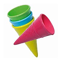 Ice Cream cone sand mold . Please indicate color choice in customer notes at check out. Colors available: pink, green