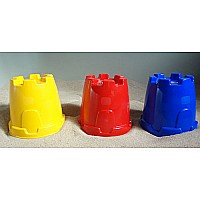 Castle Tower Sand Mold Please indicate color choice in customer notes at check out. Colors available: red, yellow