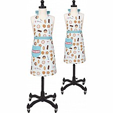 Milk & Cookies Parent and Child Apron Boxed Set