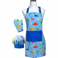 Dinosaur Deluxe Youth Apron Boxed Set