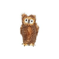 Owl, Brown Youth 9""