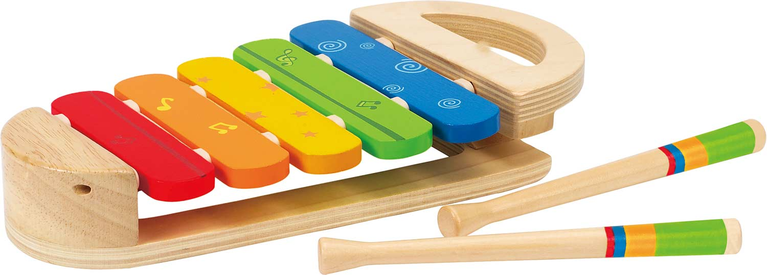 Rainbow xylophone the wooden toy
