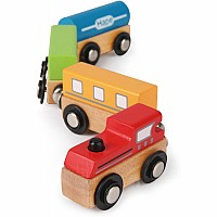 Magnetic Classic Train Qube Hape