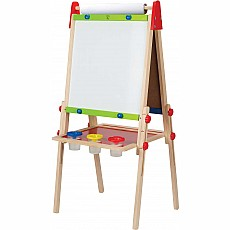 All-in-1 Double Sided Wooden Easel