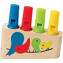 Rainbow Pan Flute (8 pc Display)