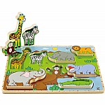 Wild Animals Stand-up Puzzle