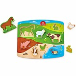 Farm Animal Puzzle & Play