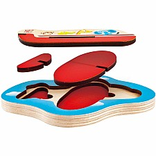 3D Airplane Puzzle