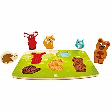 Forest Animal Tactile Puzzle Chunky