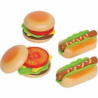 Hamburger and Hotdogs