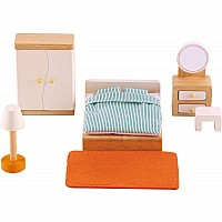 Hape Doll House Master Bedroom