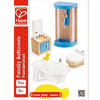 Hape Doll House Family Bathroom
