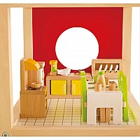 Hape Doll House Dining Room