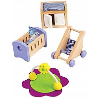 Hape Doll House Baby's Room